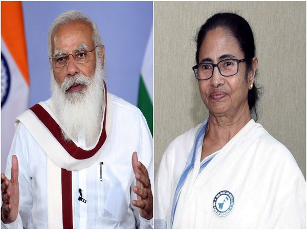 Mamata Banerjee writes to PM Modi. (Photo/ANI)