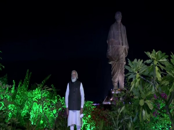 Prime Minister Narendra Modi visited the Statue of Unity on Friday.