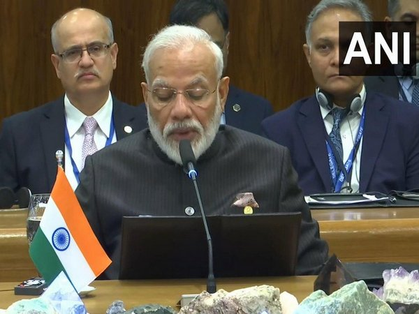 Prime Minister Narendra Modi addressing at the plenary session of BRICS summit in Brasilia on Thursday.