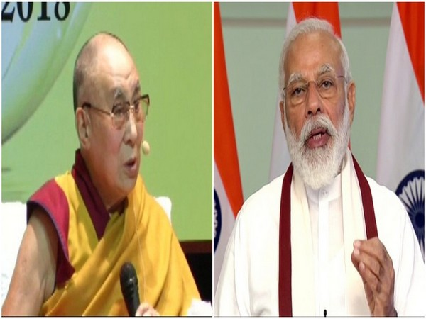 Dalai Lama and Prime Minister Narendra Modi