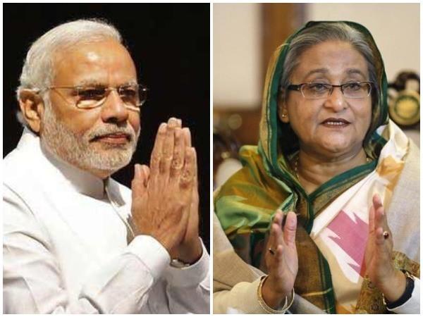 Prime Minister Narendra Modi, Bangladesh Prime Minister  Sheikh Hasina