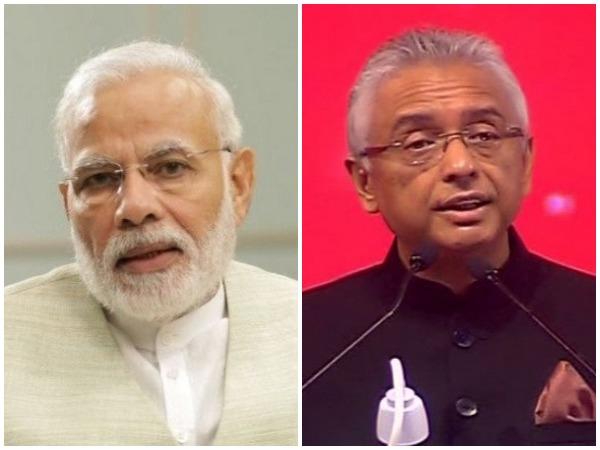 PM Narendra Modi and Mauritius PM Pravind Kumar Jugnauth (File photo)