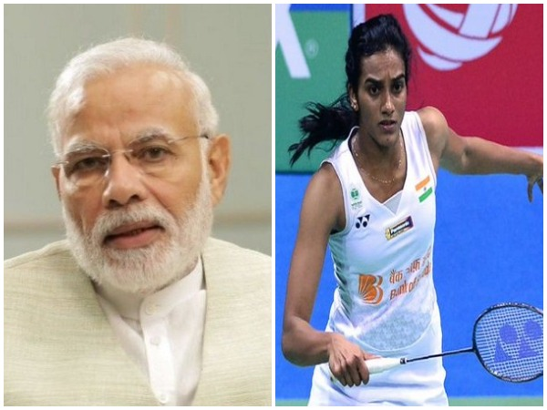 Prime Minister Narendra Modi (File Photo) and Indian shuttler PV Sindhu