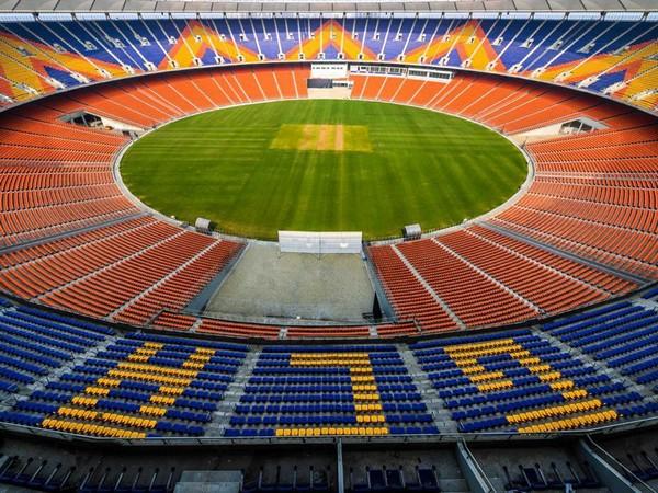Narendra Modi Stadium (Photo/ Rishabh Pant Twitter)
