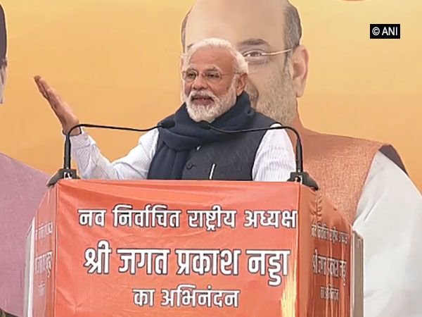 Prime Minister Narendra Modi speaking at the United Nations Climate Action Summit 2019 on Monday.