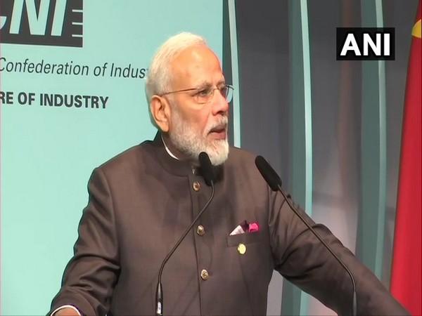 Prime Minister Narendra Modi at BRICS Business Forum in Brasilia