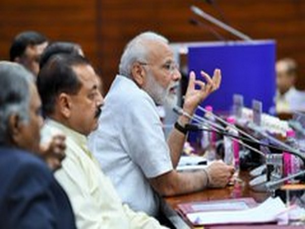 PM Narendra Modi in an interaction with IAS officers of 2017 batch on Tuesday (File photo)