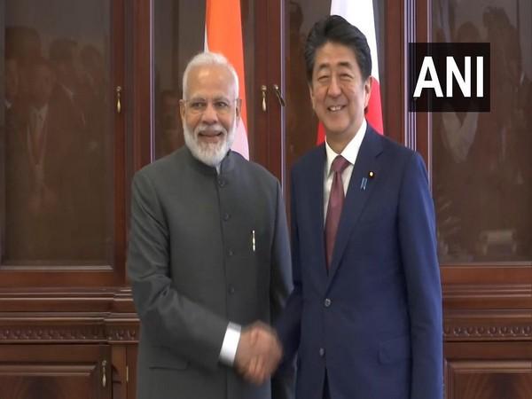Prime Minister Narendra Modi and his Japanese counterpart Shinzo Abe. (File photo)