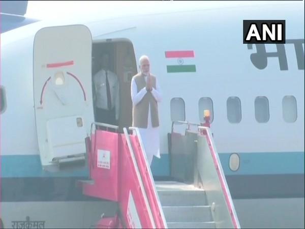 Prime Minister Narendra Modi in Ahmedabad ahead of Trump visit