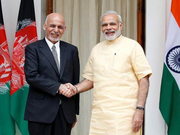 Prime Minister Narendra Modi and President Ashraf Ghani (File photo)