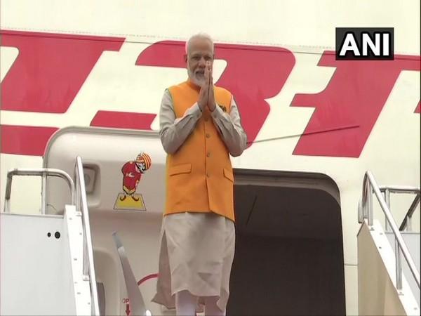 Prime Minister Narendra Modi arrives in Osaka, Japan