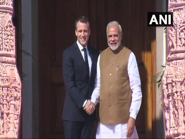 Prime Minister Narendra Modi and French President Emmanuel Macron (File photo)