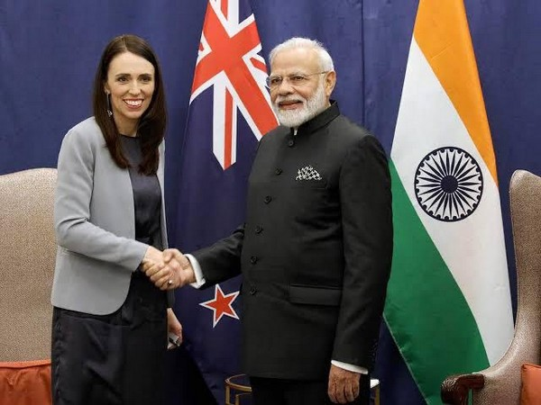 New Zealand Prime Minister Jacinda Ardern (left) and PM Narendra Modi (Photo Credit: Narendra Modi Twitter)