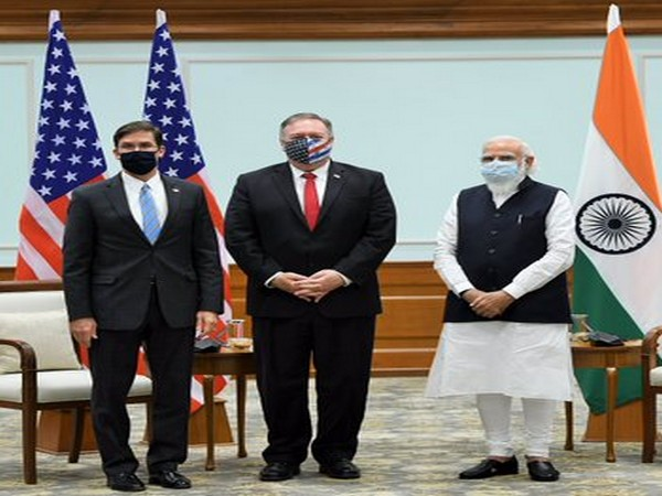 US Secretaries of State and Defense, Mike Pompeo and Mark Esper met Prime Minister Narendra Modi on Tuesday.