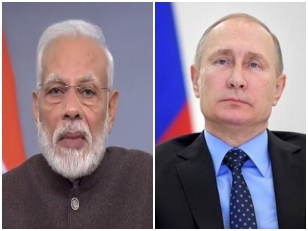 Prime Minister Narendra Modi, Russian President Vladimir Putin