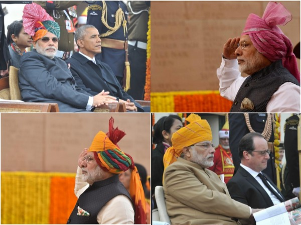 Every year, the Prime Minister adds a dash of colour with a unique turban for Independence Day and Republic Day celebrations