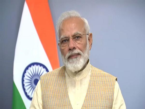 Prime Minister Narendra Modi addressing the nation in a video on Monday. (Picture courtesy: PM Modi Twitter)