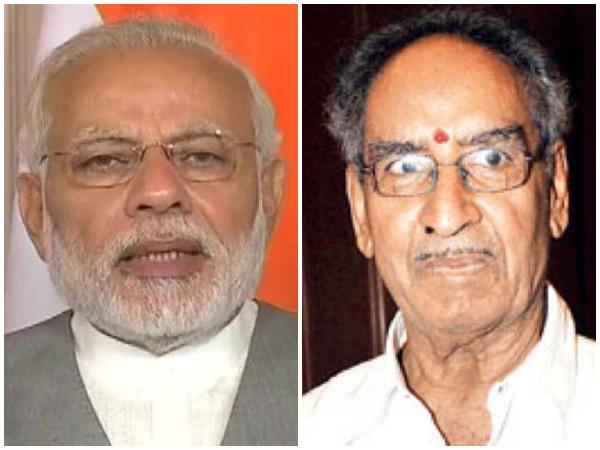 Prime Minister Narendra Modi and Veeru Devgan