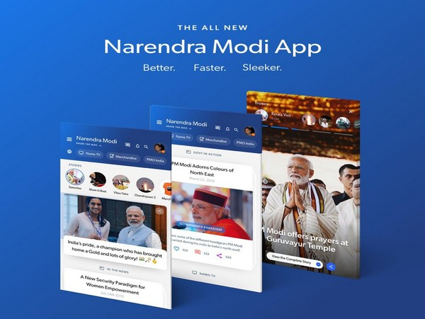 Image result for New Version of 'Namo App' Launched