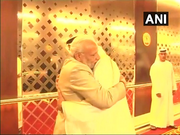 Prime Minister Narendra Modi with Crown Prince of Abu Dhabi, Mohamed bin Zayed Al Nahyan during his official visit in February 2018 (file picture)