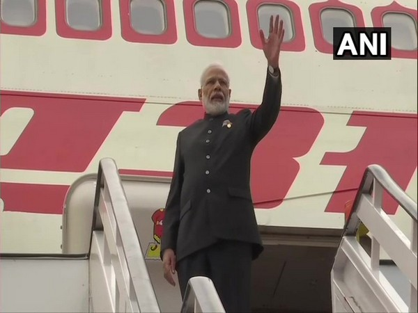 Prime Minister Narendra Modi emplanes for India from Brasilia