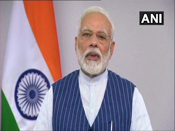Prime Minister Narendra Modi in interaction with the people of Varanasi via video conference on Wednesday. (Photo/ANI)