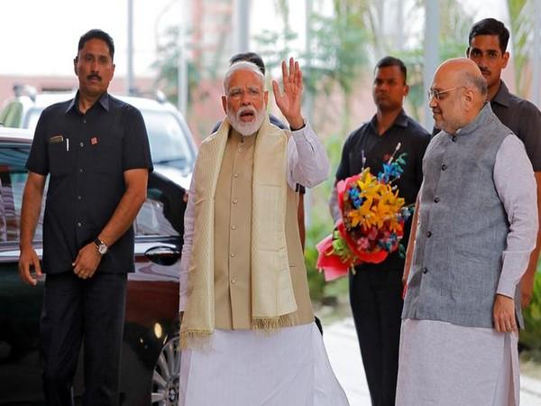 Prime MInister Narendra Modi and BJP chief Amit Shah. Photo/ANI
