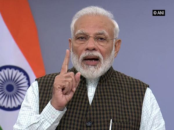 Prime Minister Narendra Modi addressing the nation on Saturday.
