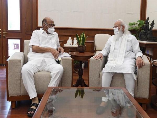 NCP chief and Rajya Sabha MP Sharad Pawar on Saturday met Prime Minister Narendra Modi in New Delhi.