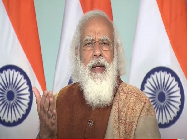 PM Modi addressing the 18th Convocation of Tezpur University in Assam through video conferencing on Friday.