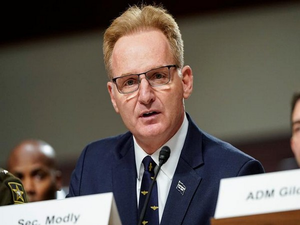 Former acting Secretary of the US Navy Thomas Modly (File pic)