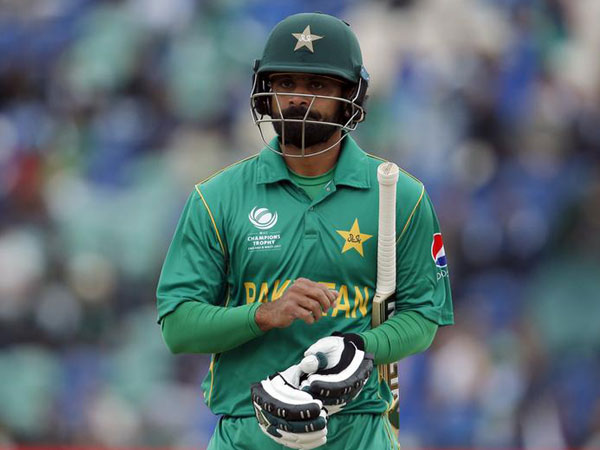 Pakistan cricketer Mohammad Hafeez
