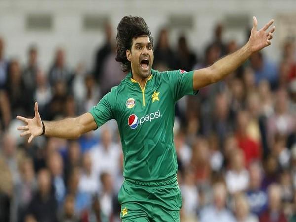 Pakistan pacer Mohammad Irfan