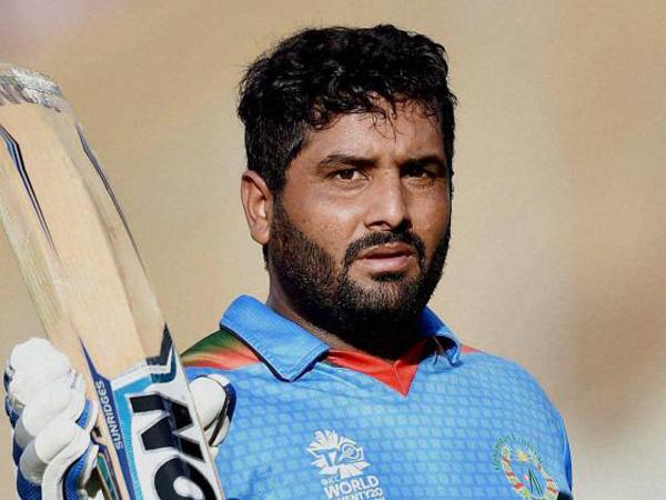 Afghanistan's wicket-keeper batsman Mohammad Shahzad