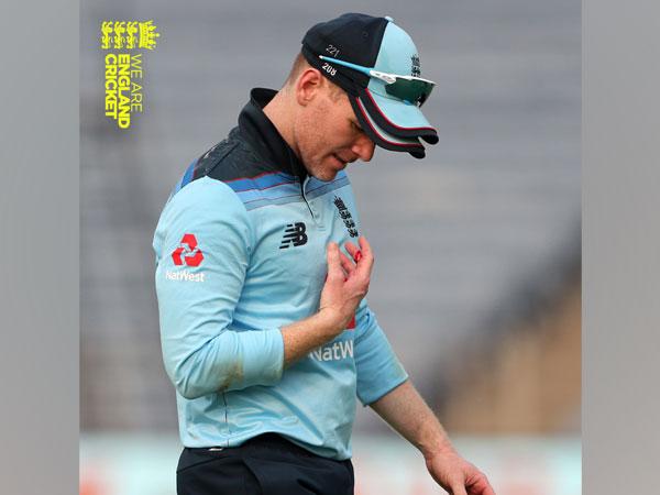England skipper Eoin Morgan (Photo/ England Cricket Twitter)