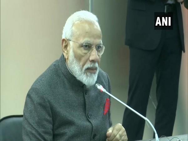 Prime Minister Modi addressing delegation-level talks with Russian President Vladimir Putin in Vladivostok on Wednesday