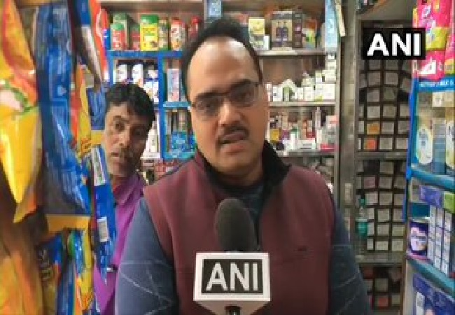 A medical store owner in UP's Moradabad speaking to ANI.