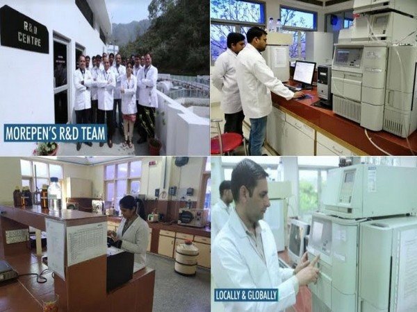 Pictures of Morepen Labs' R&D centre at Baddi, Himachal Pradesh