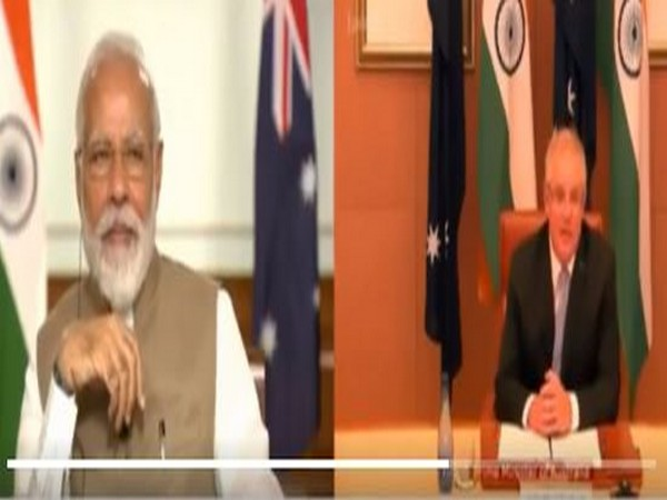 Australia Prime Minister Scott Morrison in talks with Prime Minister Narendra Modi on Thursday.