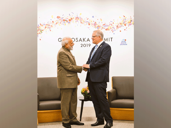 Prime Minister Narendra Modi and his Australian counterpart Scott Morrison on the sidelines of the G20 summit in Osaka earlier this year. (File photo)