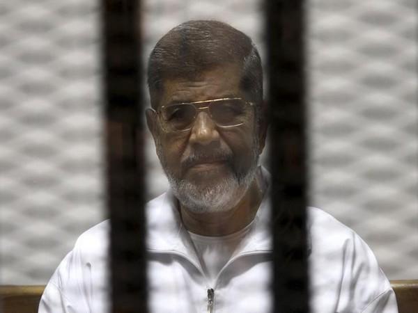 former Egyptian president Mohamed Morsi (file photo)