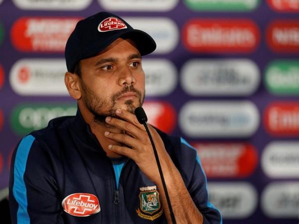 Former Bangladesh skipper Mashrafe Mortaza