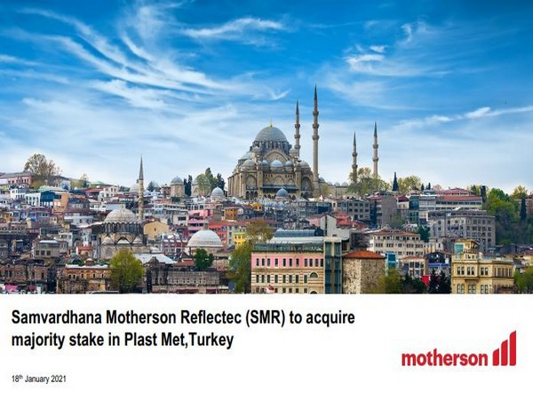 Turkey will be the 42nd country in Motherson's global operations
