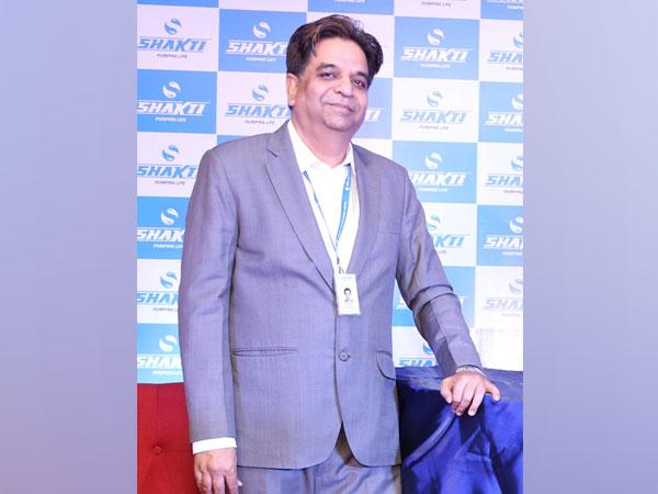Dinesh Patidar, Chairman & Managing Director, Shakti Pumps Limited