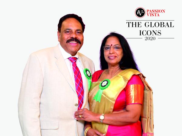 Mr and Mrs Gopinathan Nair