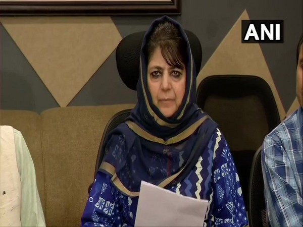 Former Chief Minister Mehbooba Mufti got a notice from the ACB on Sunday. Photo/ANI