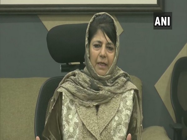 People's Democratic Party cheif Mehbooba Mufti (Photo/ANI)