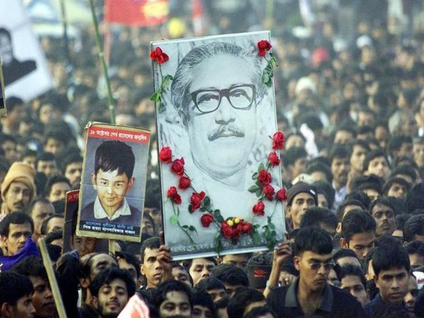 Sheikh Mujibur Rahman was killed along with most of his family in August 1975