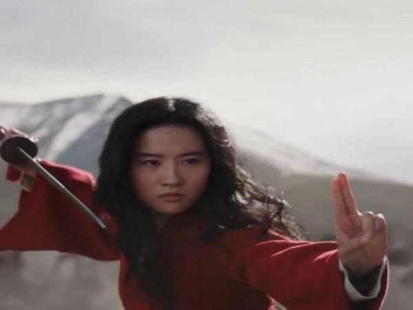 A still from the film 'Mulan'