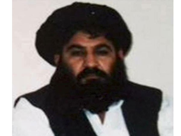 Former Taliban chief Mullah Akhtar Mansour (file photo)